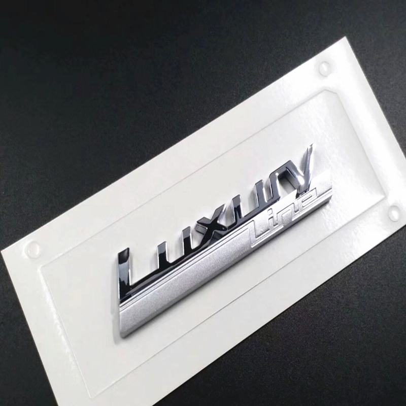 2pcs Car styling 3D ABS car door emblem badge stickers Sport-Line (Sport Line) Luxury-Line (Luxury line) for Germany cars Badge 1 pair door protector anti collision canada flag emblem 3d car stickers creative car styling automobile accessories
