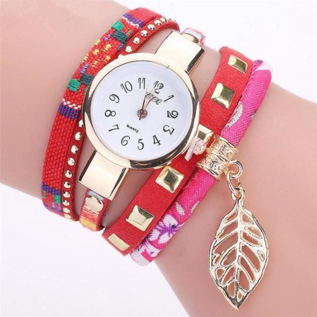 Fashion Women Girls Analog Quartz Wristwatch Ladies Dress Bracelet Watches woman