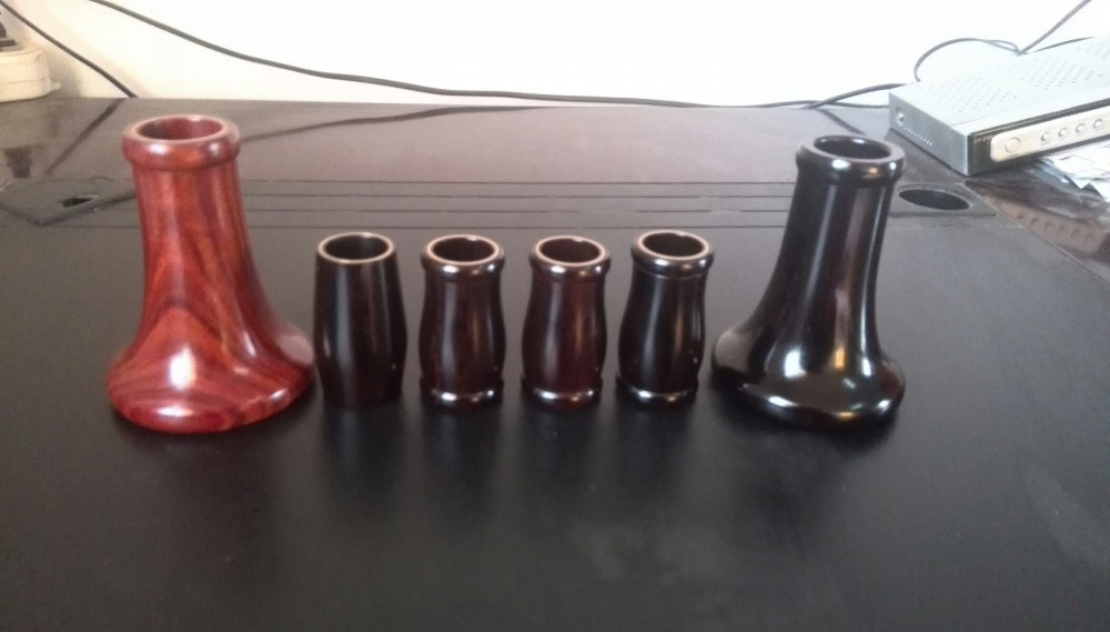 Red / Ebony Clarinet Mouthpiece Horn Accessories New Sell for Bb Clarinet BUFFET JUPITER BACKUN 8x sliver copper alloy french horn mouthpiece for conn king french horn page 8