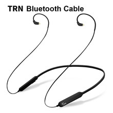 TRN/NICEHCK HB1 Wireless Bluetooth Cable HIFI Earphone MMCX/2Pin/IE80 Connector Support APTX For TRN V30/V80 AS10 NICEHCK EBX M6(China)