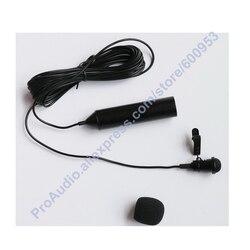 Pro Metal Clip Lavalier Microphone clips XLR 3Pin Phantom Power Lapel Mic