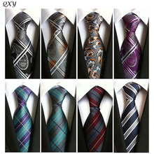 2016 vintage мужская мода галстук полиэстер шелковый галстук платье бизнес gravata мужчины галстуки плед полосы повседневная костюм с галстуком A000