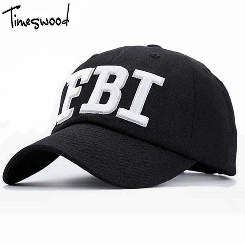 Prix pour [TIMESWOOD] Casual 2017 Mode Os Chapeau Armée Chaude Populaire Frais Casquette Hommes Femmes 2017 Police FBI Tactique Casquette de baseball