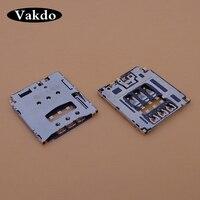 2 pçs/lote Para ASUS Zenpad 8.0 Z380KL Z380 Plug Conector do Leitor de Cartão Sim Tray Titular Slot Soquete Reparação Parte substituição