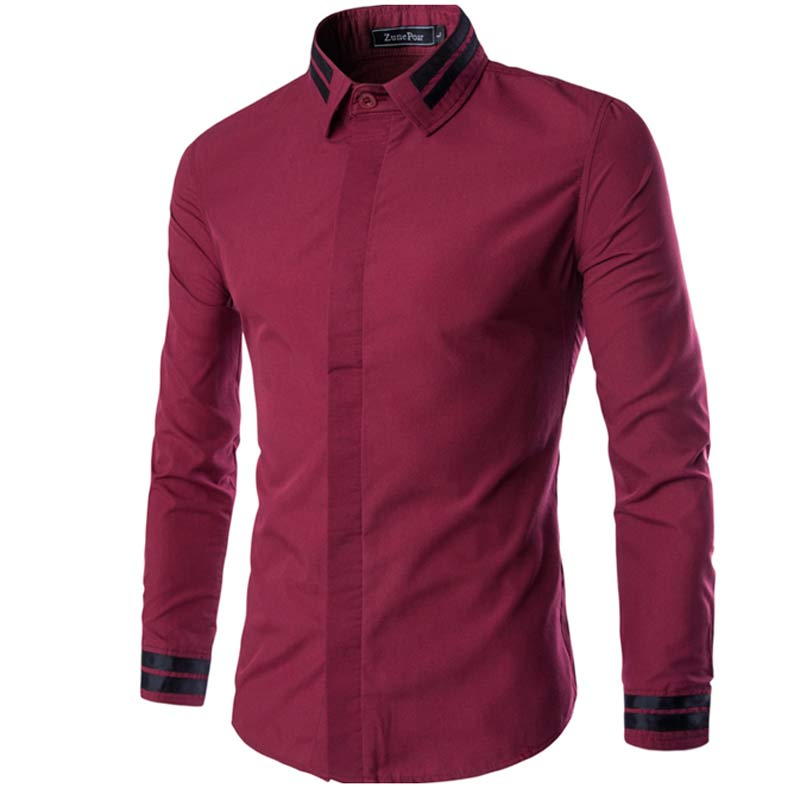 Popular Red Wine Mens Shirt-Buy Cheap Red Wine Mens Shirt lots ...