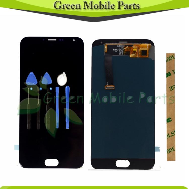 100% écran tactile testé pour Meizu MX5 MX 5 LCD panneau de verre d'affichage