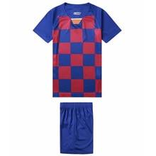 19-20 new childrens football jersey set blank board custom training suits