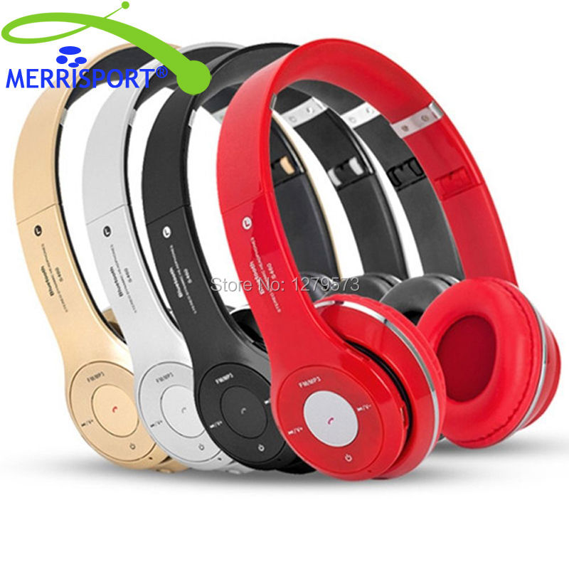 MERRISPORT Wireless Bluetooth Headphones Over-ear Stereo Wireless Headsets With Mic For iPhone Nokia HTC Samsung LG Moto Tablet a2dp universal wireless bluetooth headphons stereo headset handsfree with mic earphone for samsung lg iphone htc moto zte tablet