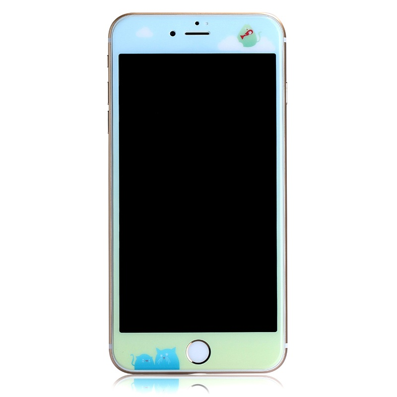 for iPhone 7 4.7 inch <font><b>Tempered</b></font> Glass <font><b>BENKS</b></font> Meow <font><b>KR</b></font>+<font><b>PRO</b></font> 3D <font><b>Curved</b></font> <font><b>Full</b></font> <font><b>Cover</b></font> <font><b>Tempered</b></font> Glass Screen Protector for Apple iPhone 7