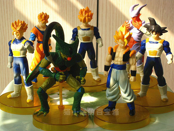 20 Sets(7pcs/set) Dragon Ball Z Action Figures Goku Cell