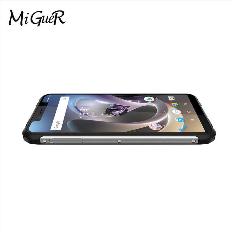 "HOMTOM ZOJI Z33 IP68 Водонепроницаемый 5,85 ""HD + 19:9 полный дисплей android 8,1 MTK6739 3 Гб ram 32 Гб rom 4600 мАч Face ID 4G смартфон"