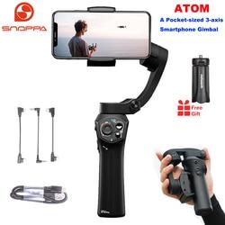 Snoppa Atom 3-осевой Складной Карманный ручной стабилизатор для iPhone смартфона GoPro и беспроводной зарядки PK Smooth 4