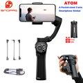 Snoppa Atom 3-Axis Складной Карманный ручной шарнирный стабилизатор для камеры для iPhone смартфон GoPro и Беспроводной зарядки <font><b>PK</b></font> гладкой 4