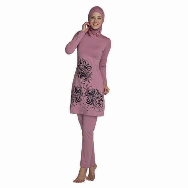 74d02cfd57d85 placeholder Top Quality muslim swimwear islamic swimsuit for women hijab  modest long dress full cover plus size