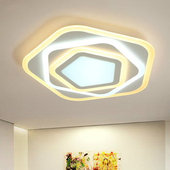 Dimmer led ceiling lights with Acrylic lamp ceiling for bedroom modern Luminaire Living Room bedroom luminaria teto