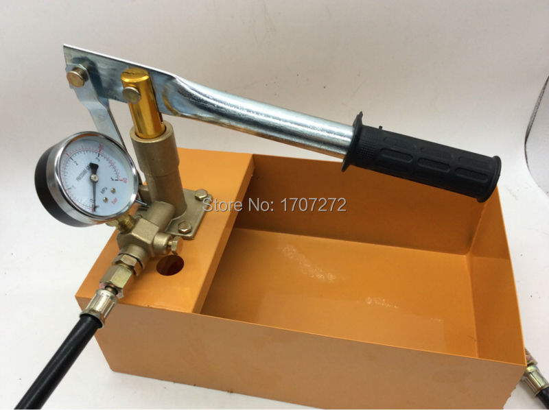 Hand movement 4.0mpa vacuum water pump for Water pressure test free shipping hand movement 4 0mpa vacuum water pump for water pressure test