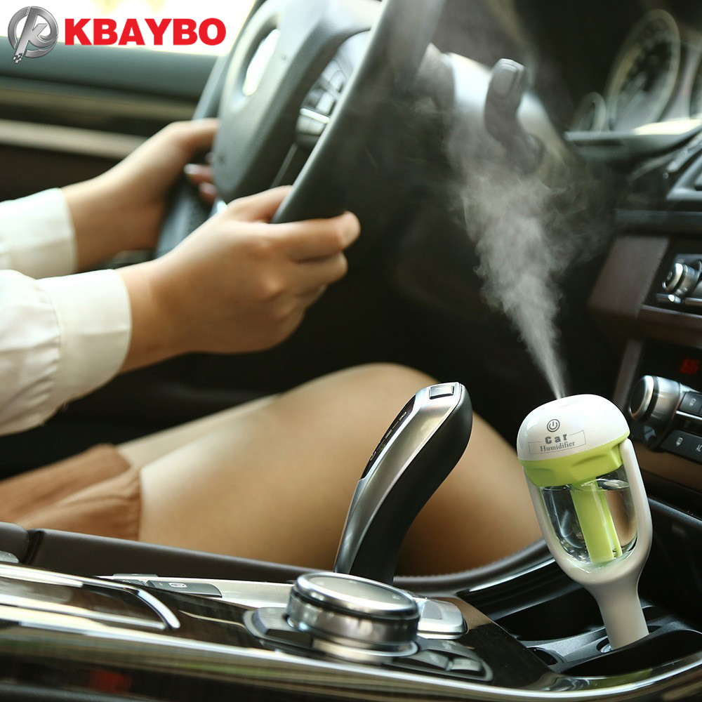 Car Aroma Diffuser Humidifier - Portable Mini Car Aromatherapy Humidifier Air Diffuser Purifier essential oil diffuser на дефлектор aroma car disc fruits