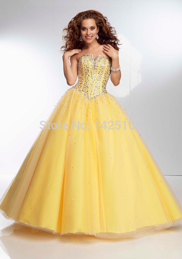 Online Get Cheap Yellow Ball Gown -Aliexpress.com | Alibaba Group