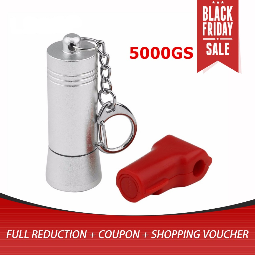 5000GS Mini Magnetic EAS Tag Remover Portable Manetic Bullet Security Tag Detacher Key Lockpick Anti-theft EAS System Protection