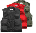 Vest Men Detachable Back Jacket Photography Director Camera Jacket Vests Waistcoat Size M-3XL