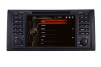 В наличии оригинальный UI 2 din dvd плеер автомобиля для bmw e53 E39 X5 с gps BT Радио USB SD Рулевое управление Canbus Бесплатная gps карта