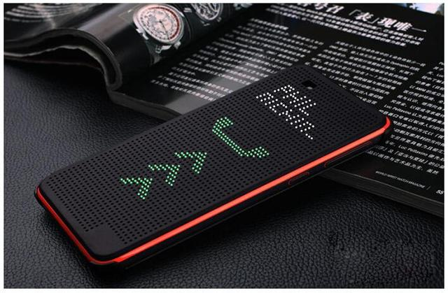 promo code 5f7ed a8d96 US $5.3 24% OFF|Luxury Ultra Flip Smart Slim Dot View Case Cover For HTC  Desire 820 D820us d820u TPU+plastic sleep function dot phone cases-in Flip  ...