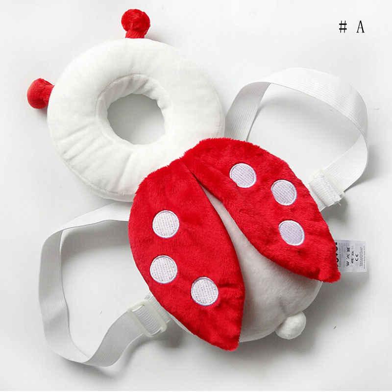 Новые брендовые Детские Младенческая малышей Лидер продаж голову назад протектор безопасности Pad жгут головные уборы подголовник 6 цветов