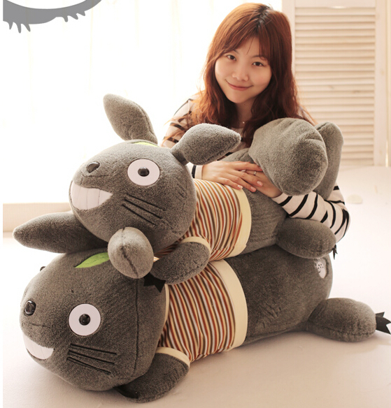 130cm Big pillow cartoon plush doll hayao miyazaki totoro toys stuffed animal cushion, birthday gift for kids 1PCS original totoro big cat bus miyazaki hayao ghibli cute stuffed animal plush toy doll birthday gift children boy girl gift
