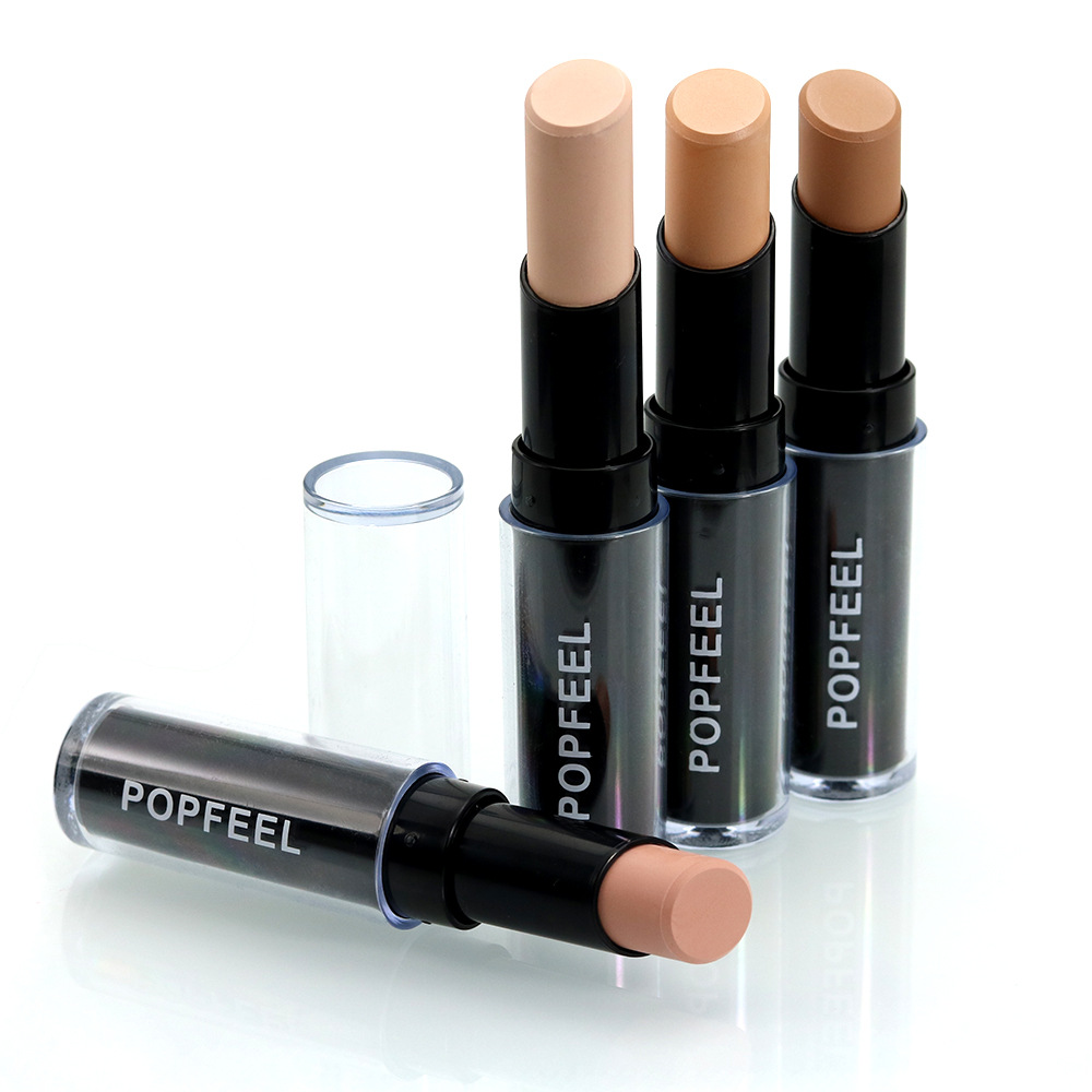 Popfeel Beauty Concealer Face Foundation Women Daily Facial Makeup Dark Eye Circle Hide Blemish Face Care Blemish Concealer