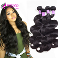 Malaysian Virgin Hair Body Wave 4 Bundles Peerless Virgin Hair 7A Unprocessed Human Hair Weave Malaysian Body Wave Hair Bundles