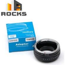 Adaptador de inclinación Macro para lente de montaje Canon EOS EF para Canon EOS 5D II III 60D 700D 450D 50D
