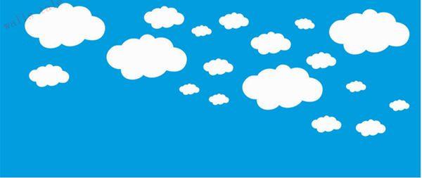 HTB1g7n3MpXXXXadXFXXq6xXFXXXF - Mini Clouds wall sticker for kids room