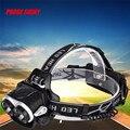 8000LM 2X XM-L T6 Headlamp Headlight Head Light LED Rechargeable USB+Battery l7117