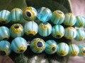 210 + Бисер/3 пряди Синий Millefiori Стеклянные Бусины Круглые Бусины + 6mm-DIY Ювелирные Изделия Шамбалы Браслет Серьги Аксессуары B6 A1