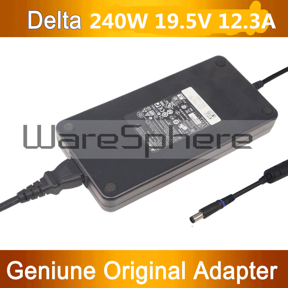 New 240W 19.5V 12.3A PA-9E AC DC Power Adapter Charger Cord for Dell Alienware M17X R2 M17X R3 M6600 M6700 J211H FWCRC new 240w 19 5v 12 3a pa 9e laptop ac power adapter charger for dell alienware m17x r2 r3 r4 r5 17d 1848 m18x r3 ga240pe1 00
