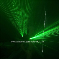 Green Laser Vest Luminous Waistcoat 532nm 100mW Green Laser Man Performance Costume Clothes For Laser Show Stage Party