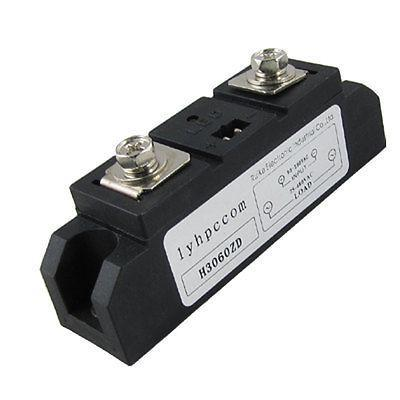 AC to AC Single Phase Solid State Relay SSR 60A 90-280V AC 75-480V AC single phase solid state relay 220v ssr mgr 1 d4860 60a dc ac