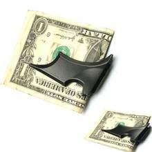 Clips de dinero en forma de murciélago Unisex, clip metálico de aleación de Zinc con estampado de animales, abrazadera para dinero en efectivo, Cartera de Soporte Simple