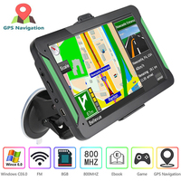 CarGPS Navigator car accessories 7 inch LCD capacitive screen Navitel FM satellite transmitter voice GPS navigation latest map