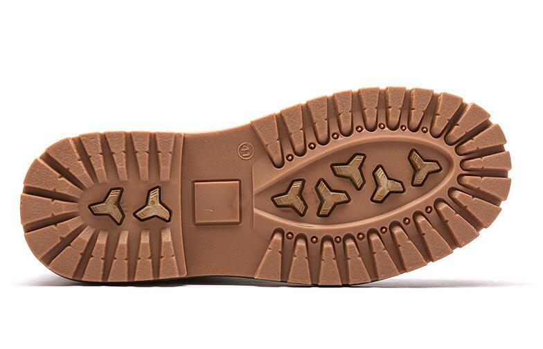 AMSHCA Alle Match Mannen Werken Laarzen Herfst Leisure Enkellaars voor Man Volwassen Platform Veiligheid mannen Boot Kleur Zwart grijs Geel Bruin - 5