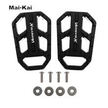 MAIKAI Motorcycle Accessories FOR KAWASAKI Versys X300 X 300 2017-2019 CNC Aluminum Alloy Widened Pedals