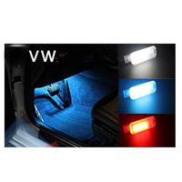 ASTYO Car Led Footwell light for VW Golf 6 Jetta MK5 MK6 CC Tiguan Passat B6 foot lights