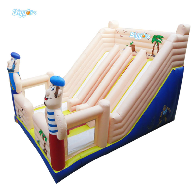 Inflatable Biggors China Supplier Inflatable Dual Slide For Rental Business inflatable biggors combo slide and pool outdoor inflatable pool slide for kids playing
