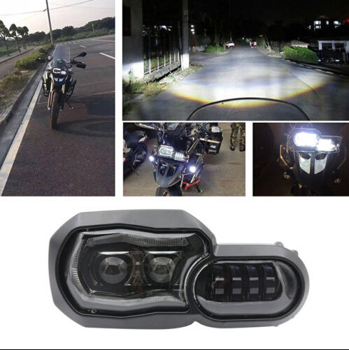 HEADLIGHT FARO SOSTITUTIVO LED B-M-W F650 GS F700GS F800GS & ADV F800R PLUG&PLAY