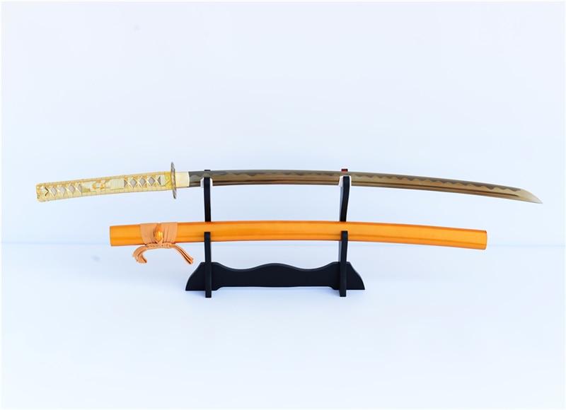 SHI JIAN Πραγματικό Sharp Samurai Sword Katana 1060 - Διακόσμηση σπιτιού - Φωτογραφία 2