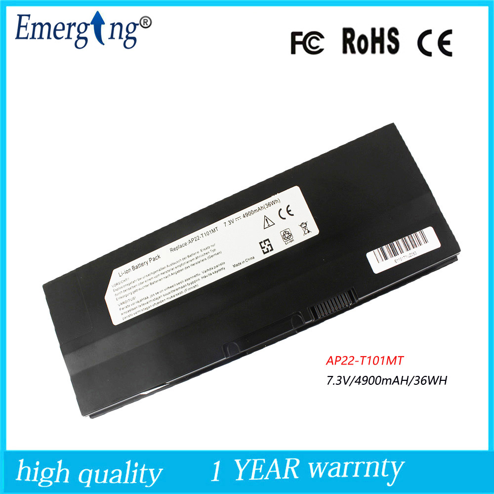 купить 7.3v 4900mah Japanese Cell New Laptop Battery for ASUS EEE PC T101MT AP22-t101mT 90-0A1Q2B1000Q 90-OA1Q2B1000Q по цене 2964.01 рублей