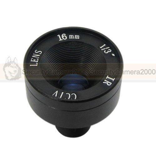 Free Shipping 1/3 16mm MTV Mega Pixel Infrared Sensor Lens F1.2 for CCTV Camera