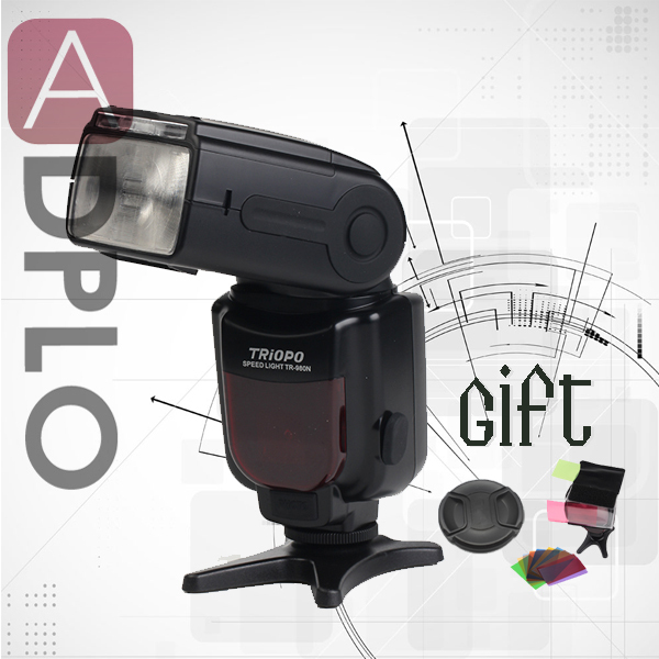 Buy 1 get 2 gift !TRIOPO TR-980 Flash Speedlite suit For Nikon D4, D3s, D3x, D3, D700, D300s, D300, D200,D100 new waste ink tank maintenance tanks with chip for epson 7700 9700 7710 9710 printer