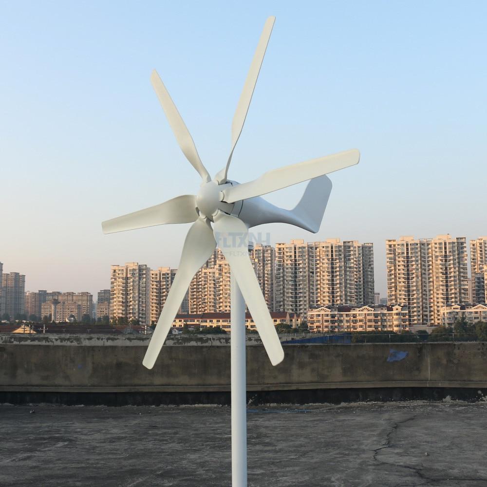 inicio horizontal 1 3 m s novo 800w 12v 24v turbina eolica com 6 laminas e
