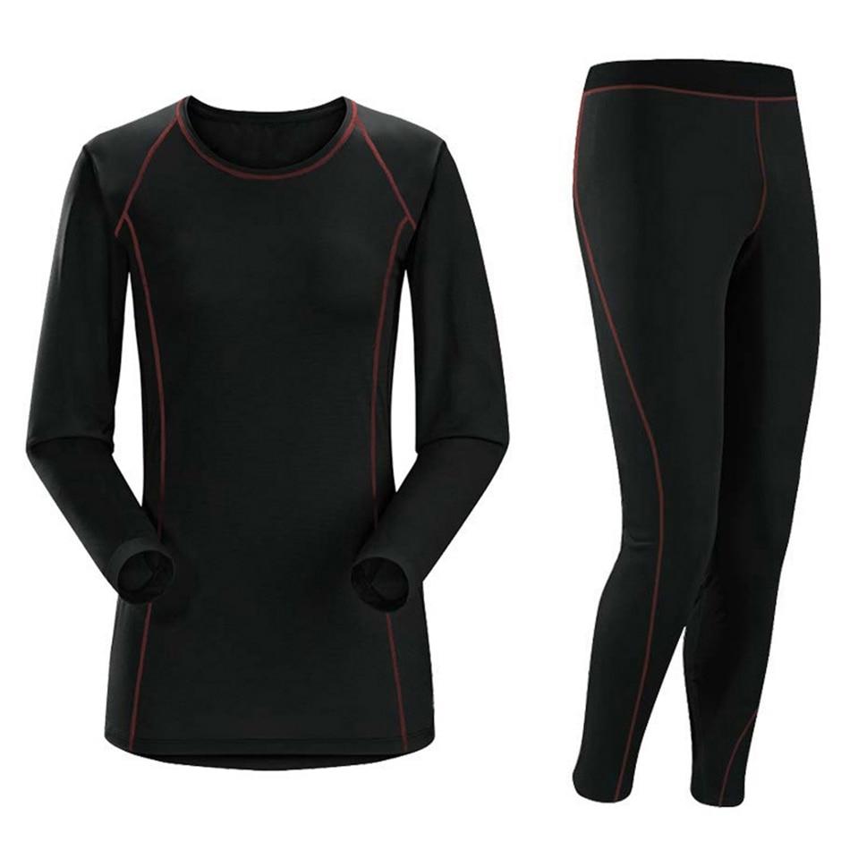 AmynickA Brand Winter Thermal Underwear Sets Women 2019 New Quick Dry Warm Women's Thermo Underwear Famale Warm Long Johns